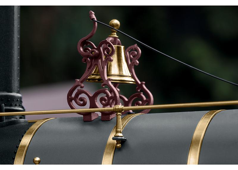 Golden Spike UP Bell Detail