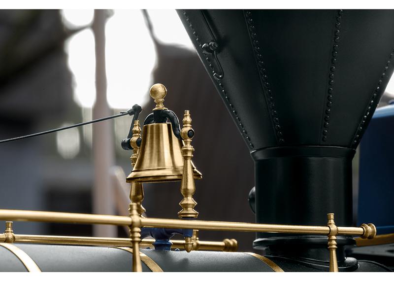 Golden Spike Engine Jupiter Bell Detail