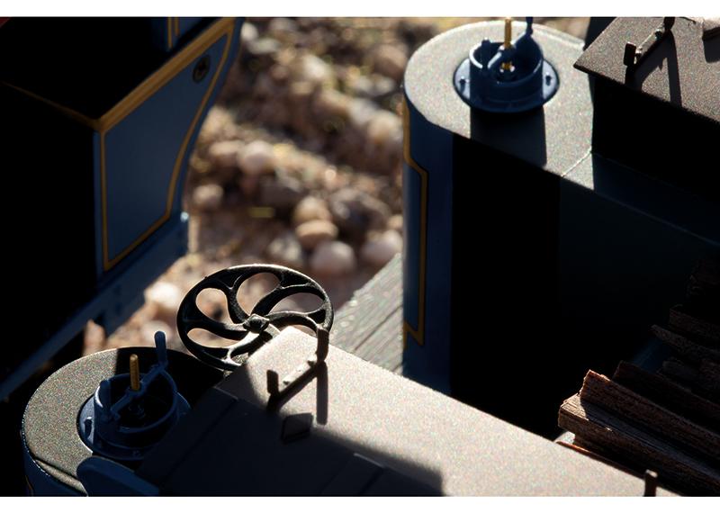 Golden Spike Breakwheel Detail